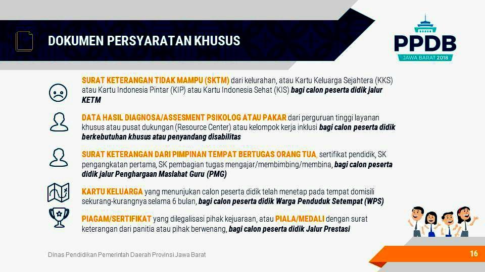 Persyaratan Umum PPDB SMKN 1 Padaherang 2018/2019