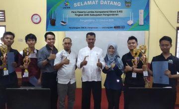 SMKN 1 Padaherang Juara Umum LKS SMK Tingkat Kabupaten, Siap Mewakili 7 Mata Lomba Tingkat Provinsi