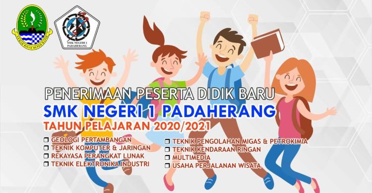 Banner PPDB SMKN 1 Padaherang