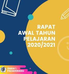 Rapat Awal Tahun Pelajaran 2020/2021
