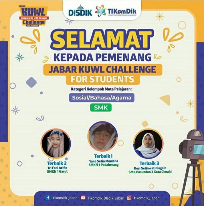Siswa SMKN 1 Padaherang Juara 1 Lomba Jabar KUWL Challenge
