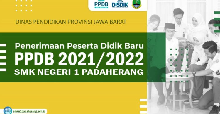 PPDB 2021-2022 SMKN 1 Padaherang